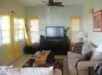 Half moon property for sale living room